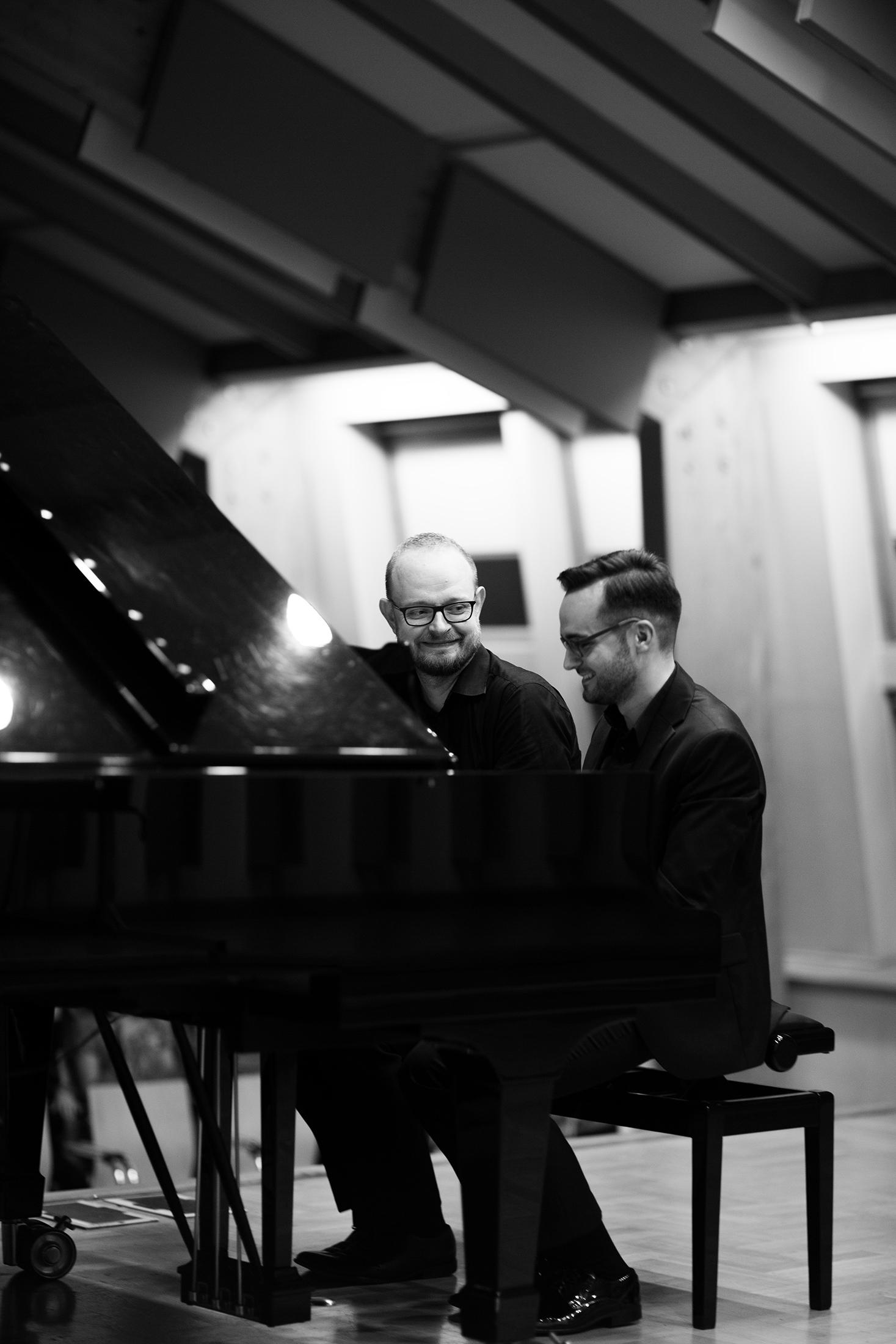 Zarębski Piano Duo: Piotr Różański & Grzegorz Mania