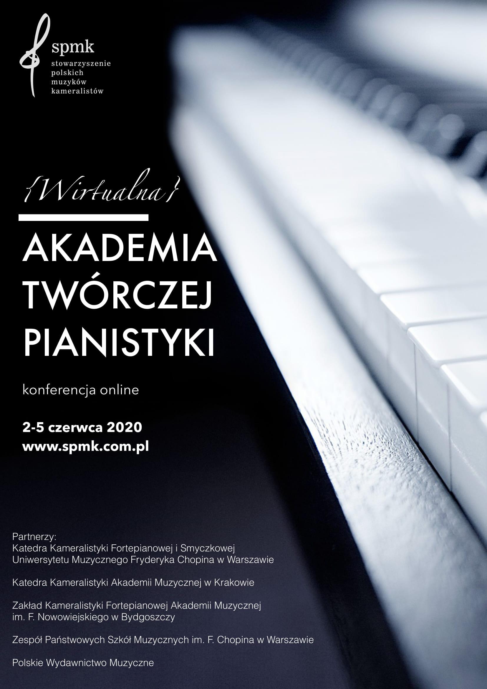 {Wirtualna} Akademia Twórczej Pianistyki