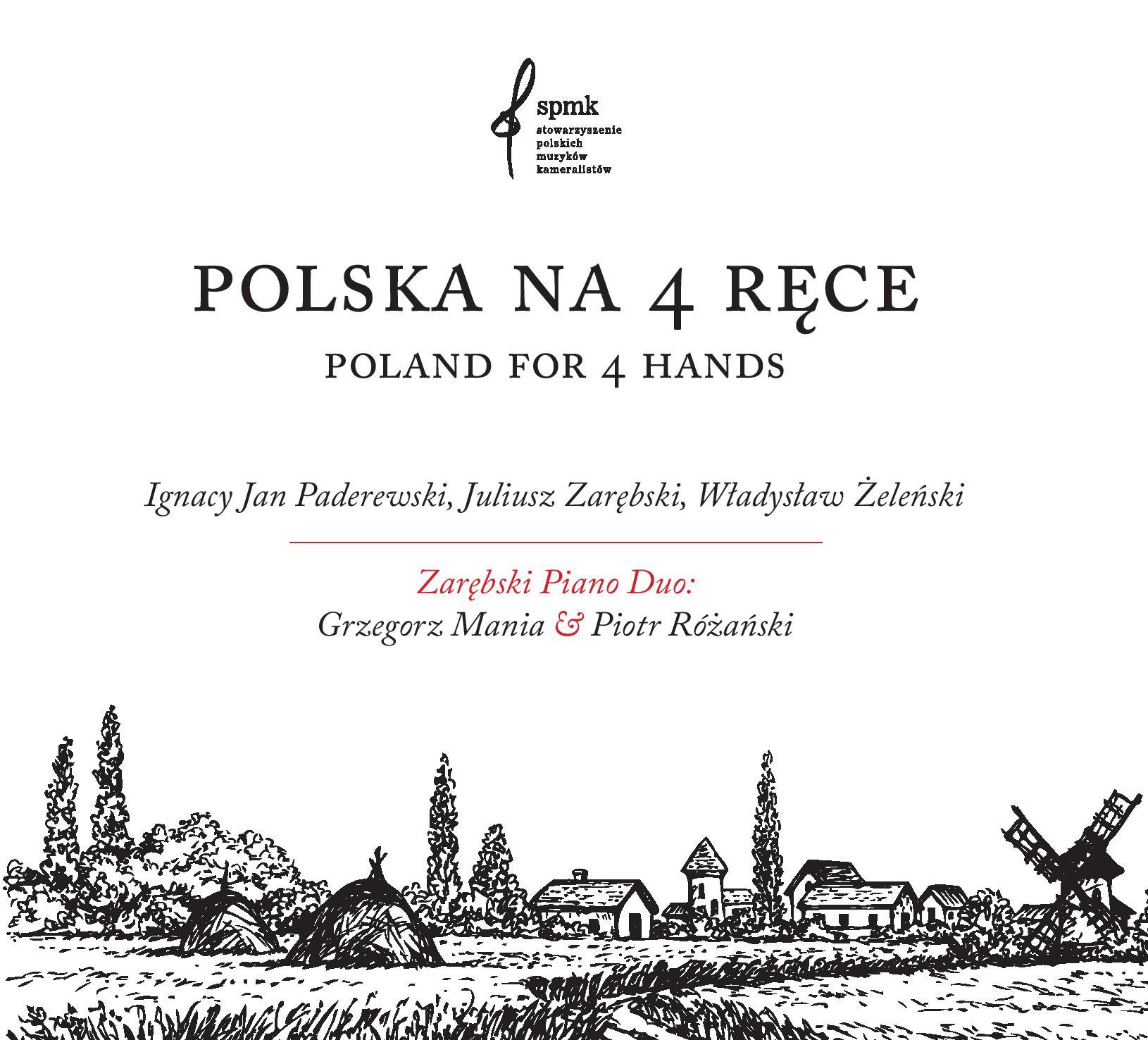 Polska na 4 ręce – nagrania Zarębski Piano Duo